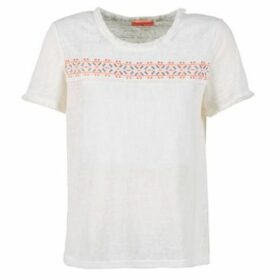 Moony Mood  GUERMILLON  women's T shirt in White