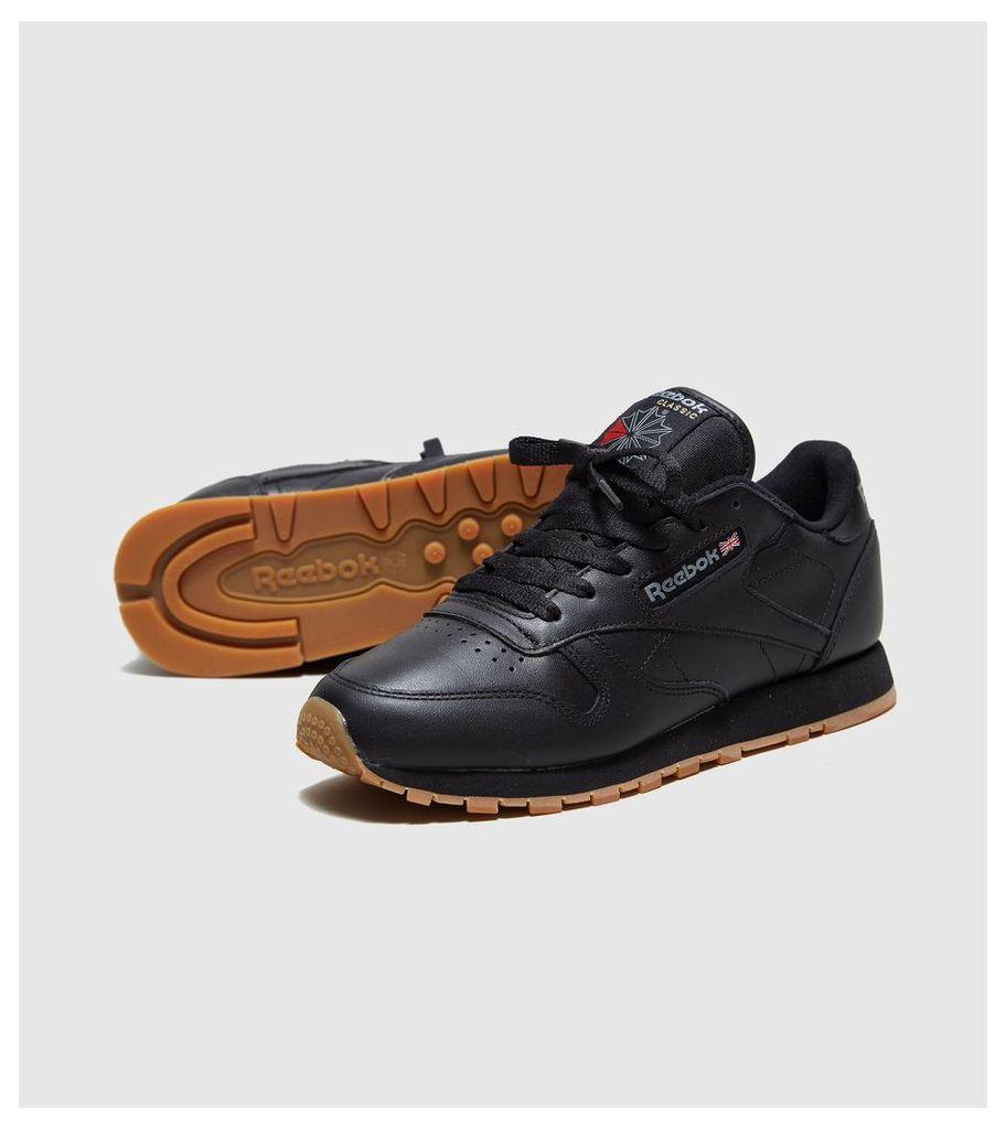 Reebok Classic Leather Women's, Black/Gum