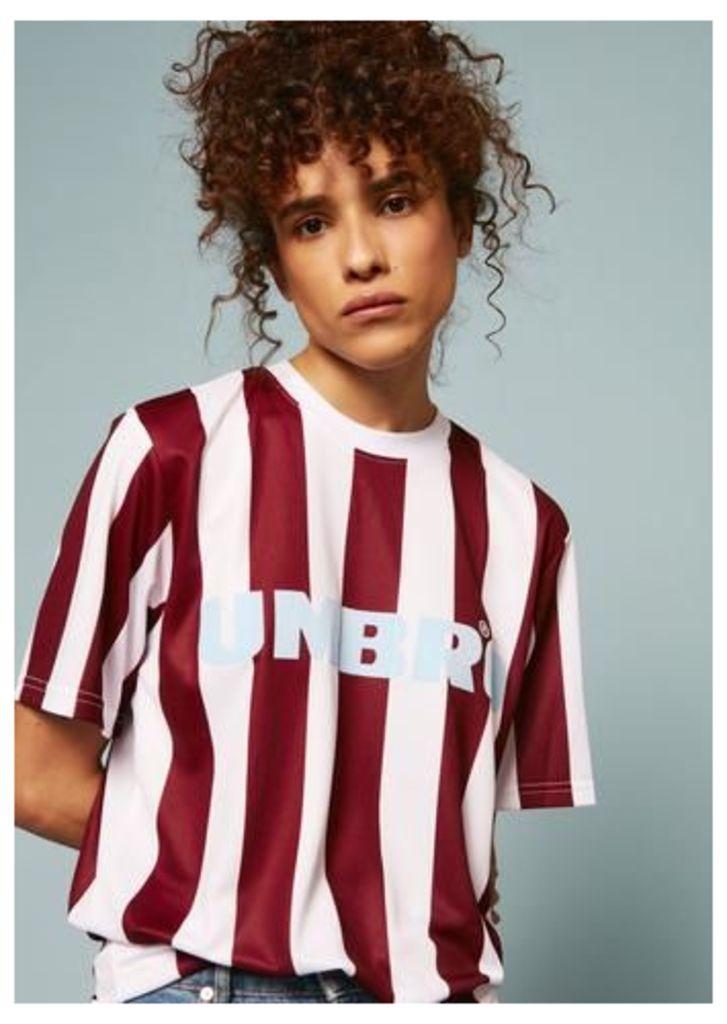 Umbro Jersey Striped T-Shirt