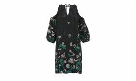 Edison Botanical Print Dress