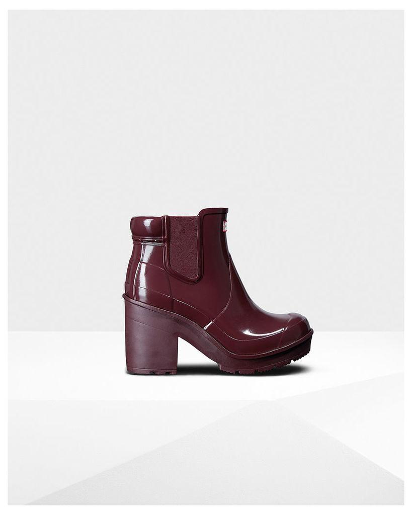 Women's Original Block Heel Gloss Chelsea Boots
