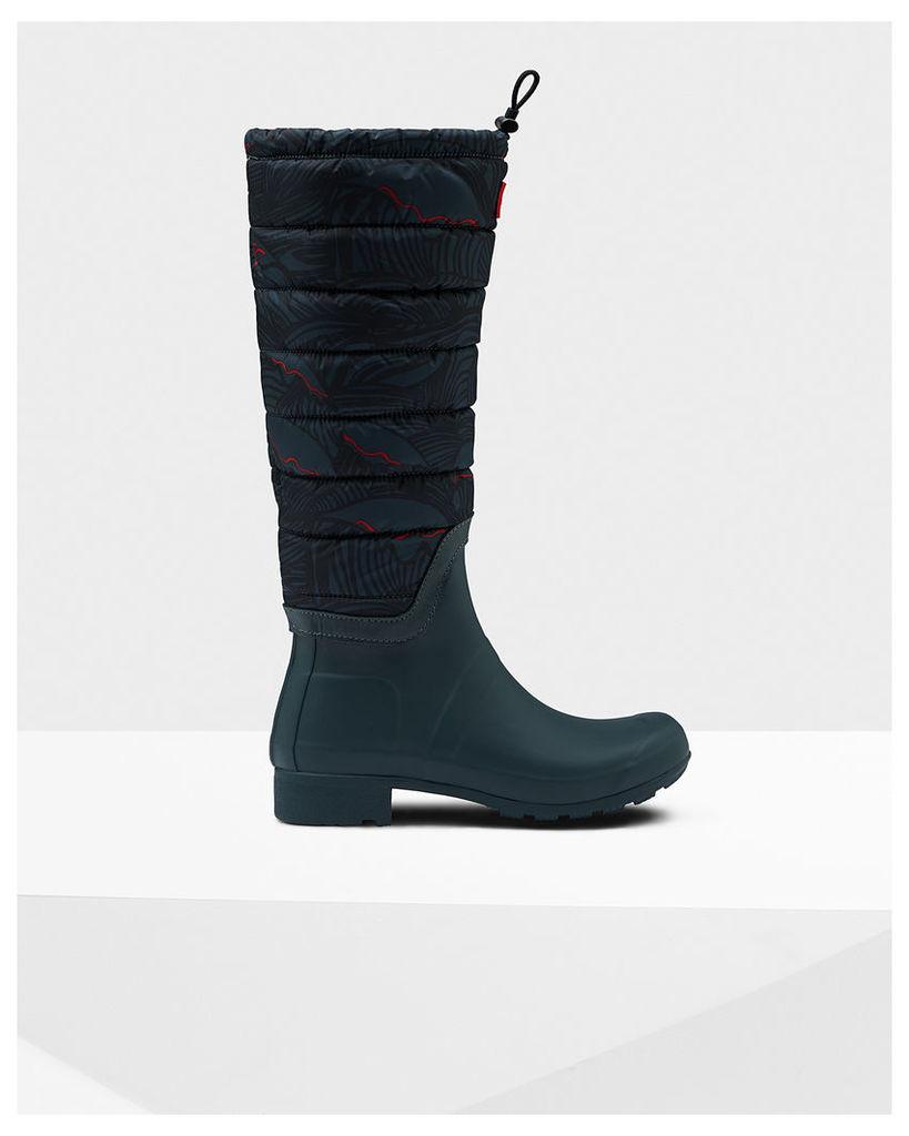 Women's Original Tall Quilted Leg Wellington Boots