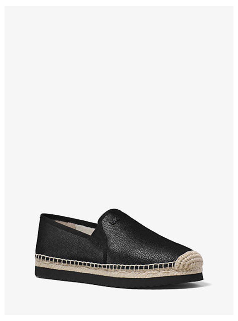 Hastings Leather Slip-On Espadrille