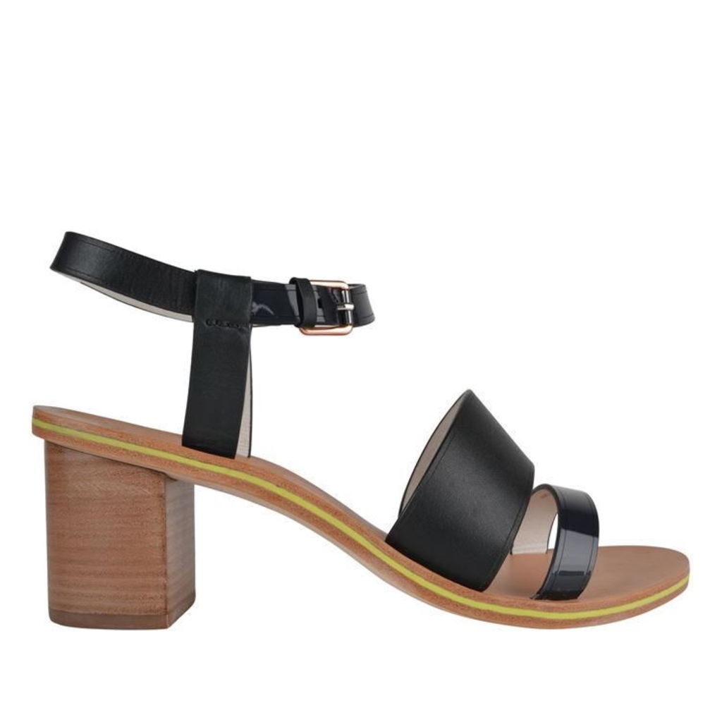 Castle Block Heel Sandals
