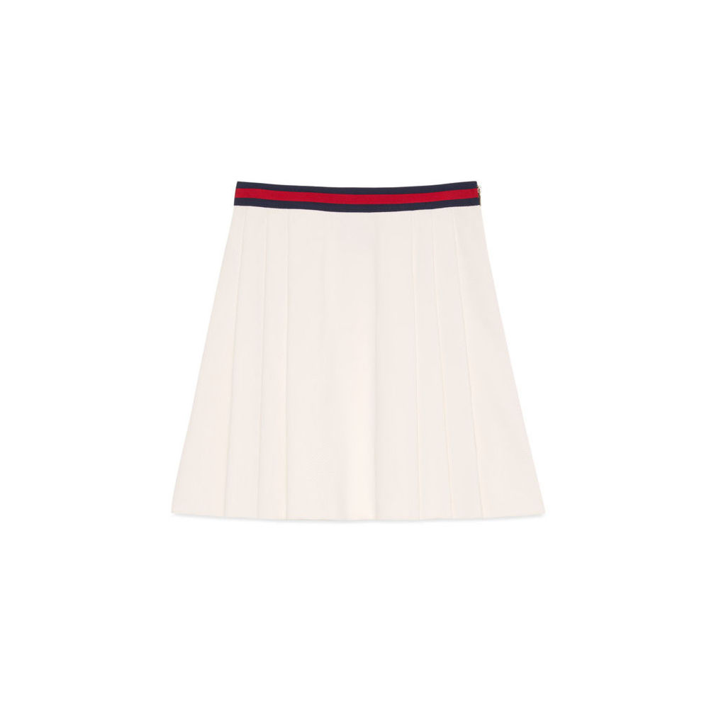 Pleated skirt with Web