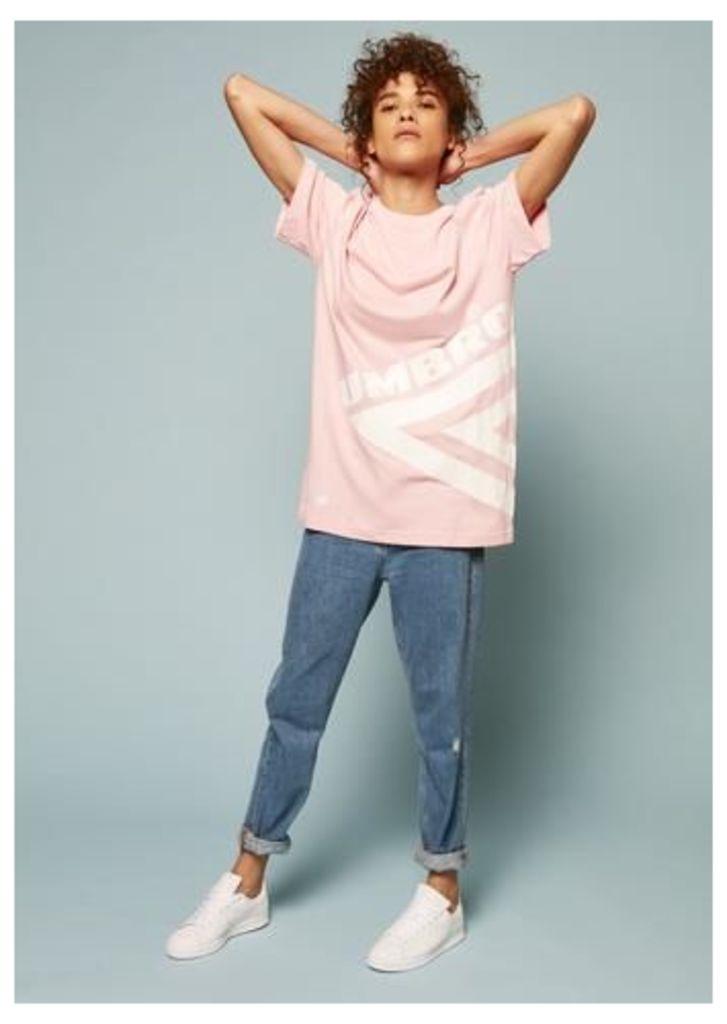 Umbro Half Diamond T-Shirt (Pink)