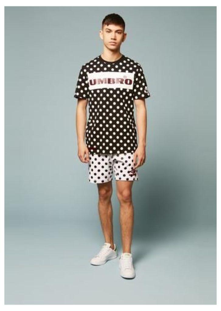 Umbro Polka Dot Flock Branding Shorts