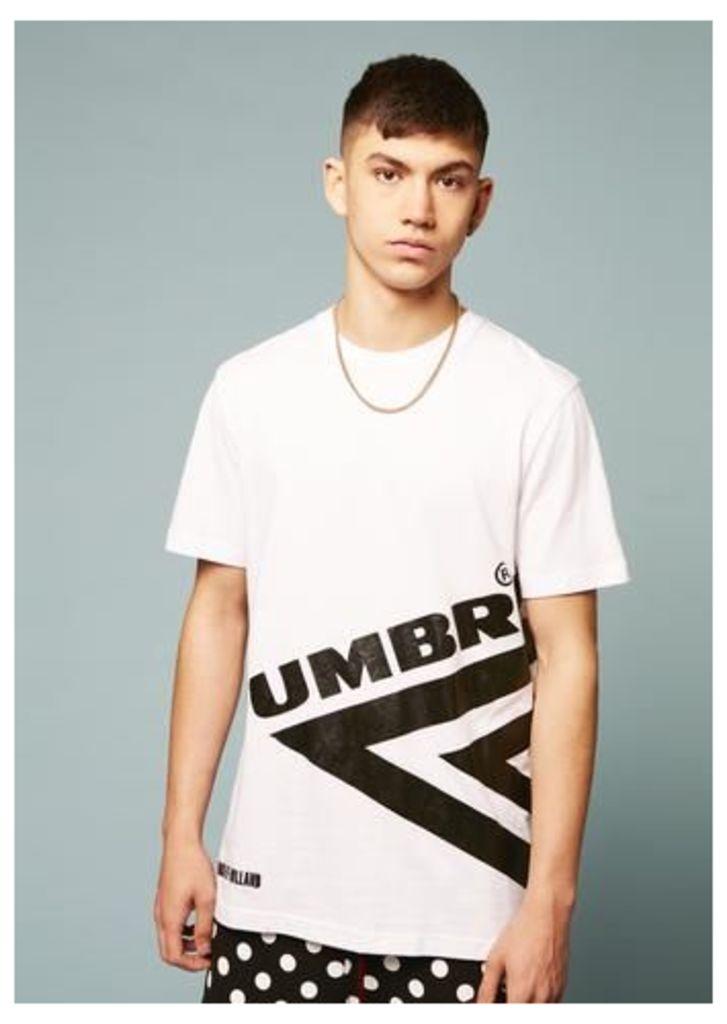 Umbro Half Diamond T-Shirt (White)