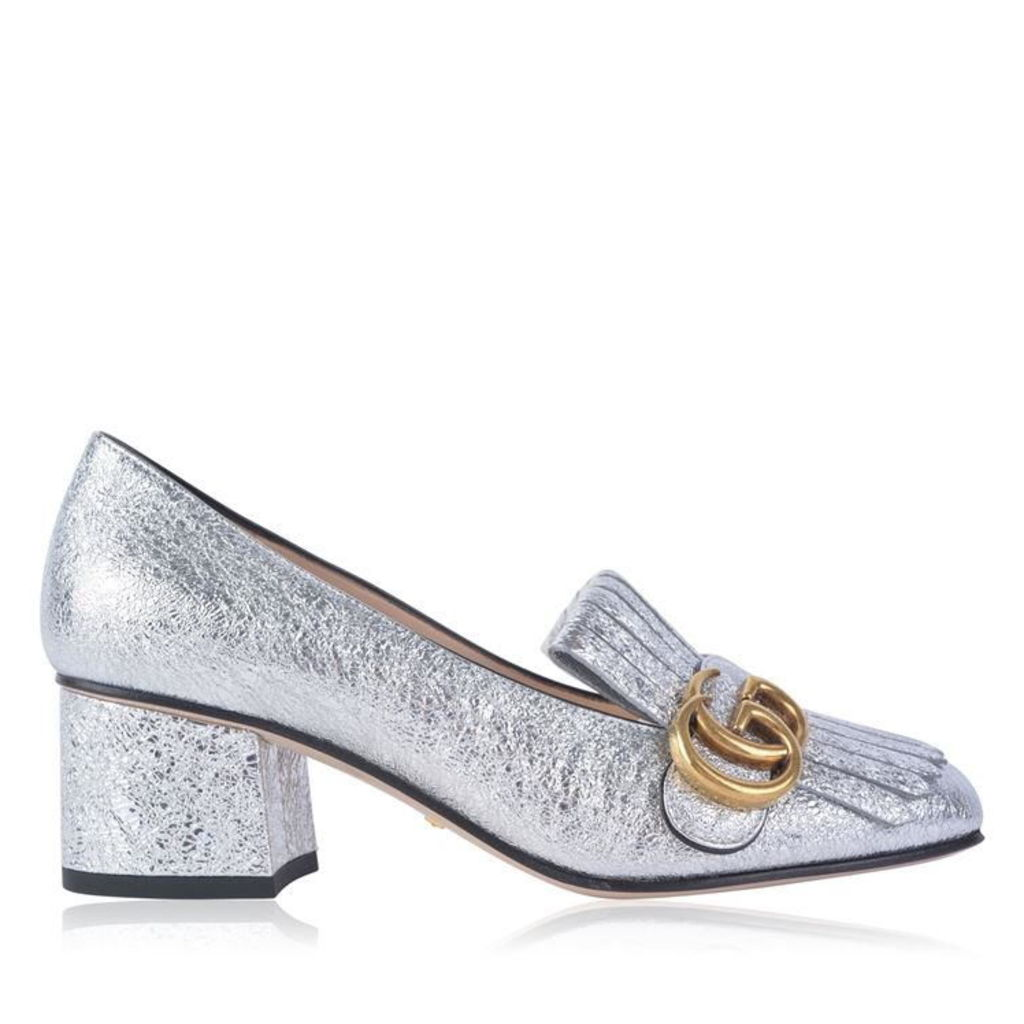 Marmont Metallic Loafers