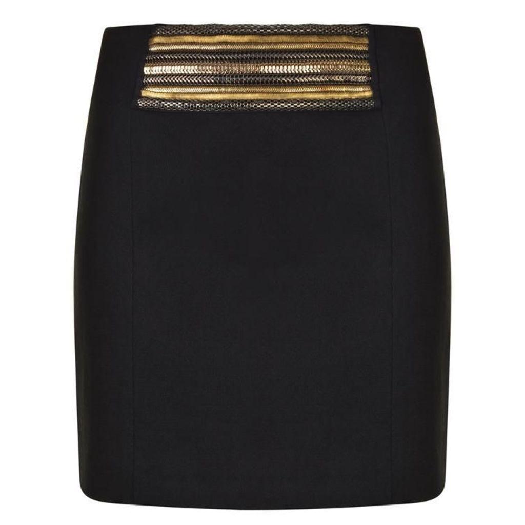 Embroidered Waist Skirt