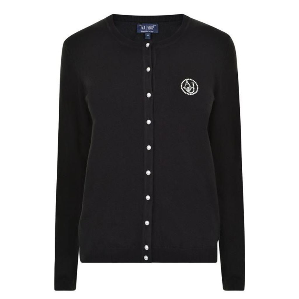Branded Knitted Cardigan