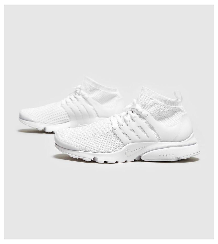 Nike Air Presto Ultra Flyknit Women's, White/White
