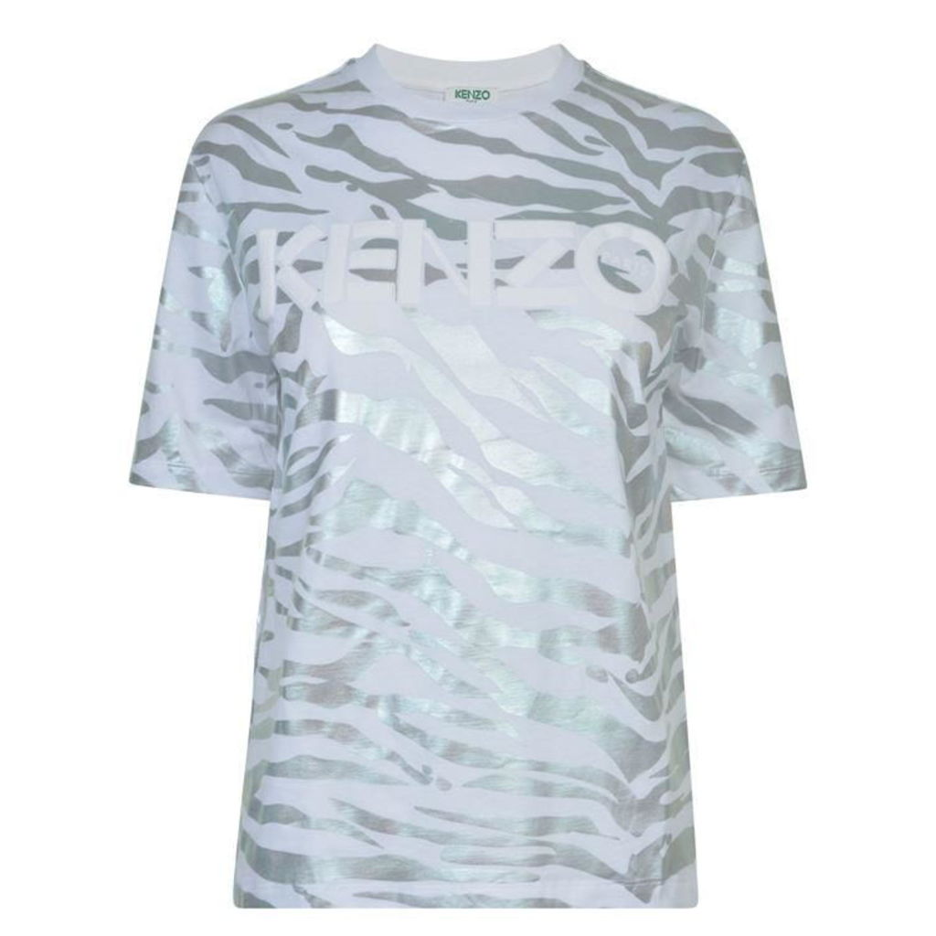 Metallic Tiger T Shirt