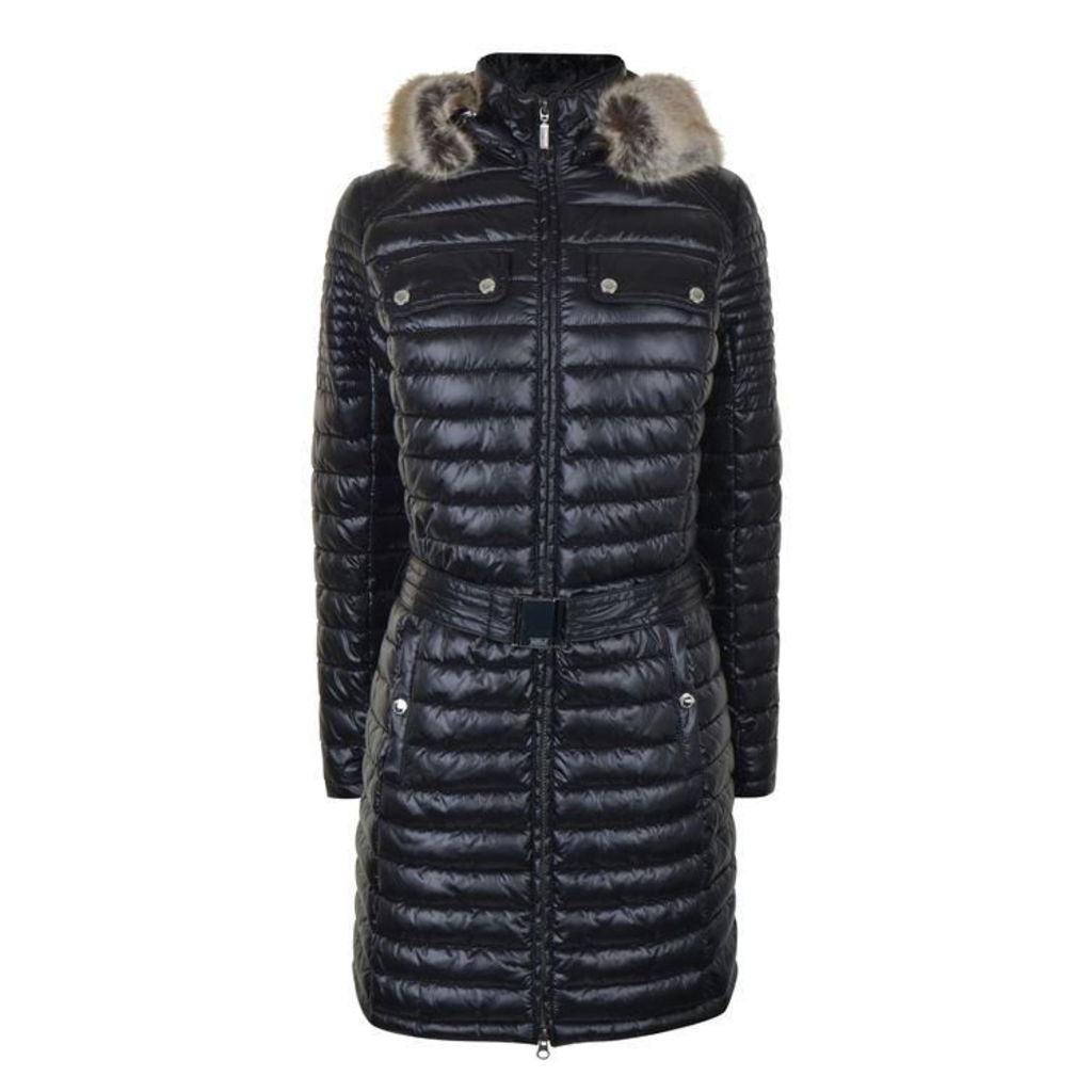 Endo Baffle Quilted Coat