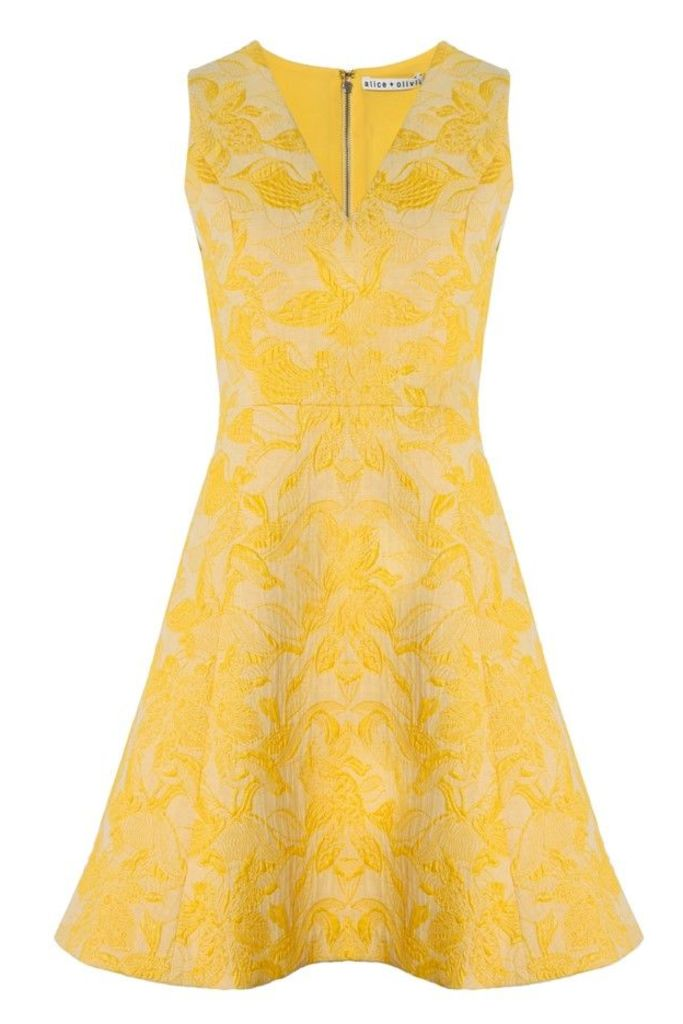 Nicolette Short Flare Dress