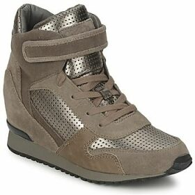 Ash  DRUM  women's Shoes (High-top Trainers) in Brown