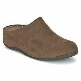 FitFlop  SHUV NUBUCK  women's Clogs (Shoes) in Brown