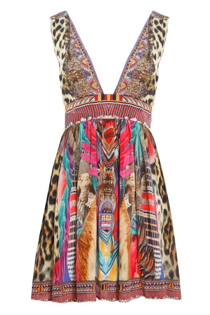 Kingdom Call V-Neck Short Dress