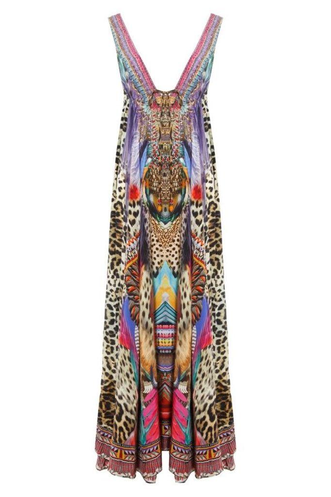 Kingdom Call Long Drawstring Dress