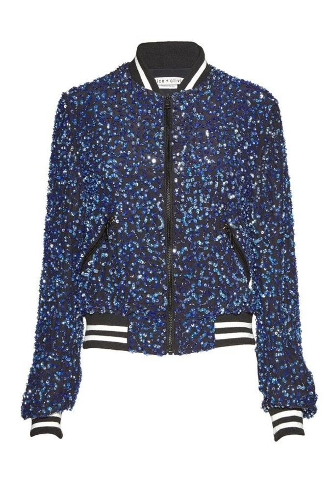 Lonnie Embellished Bomber Jacket