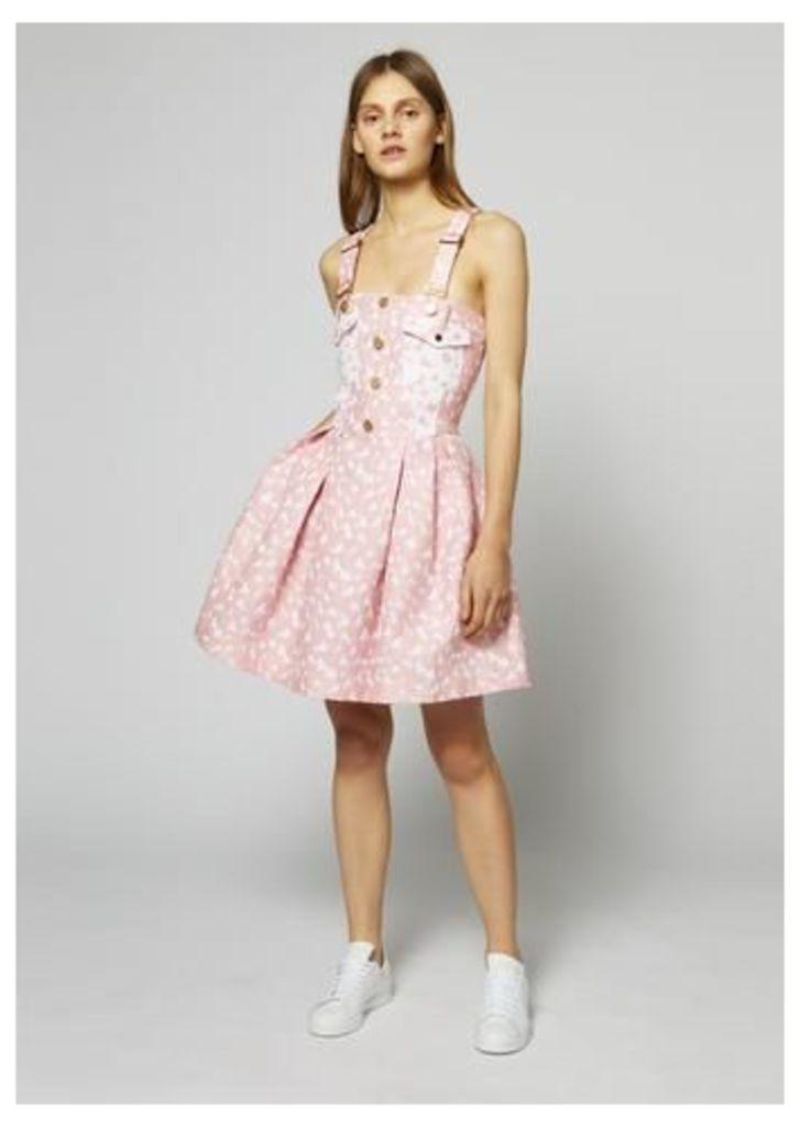 Heart Dungaree Dress