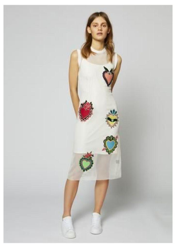 Heart Mesh Dress