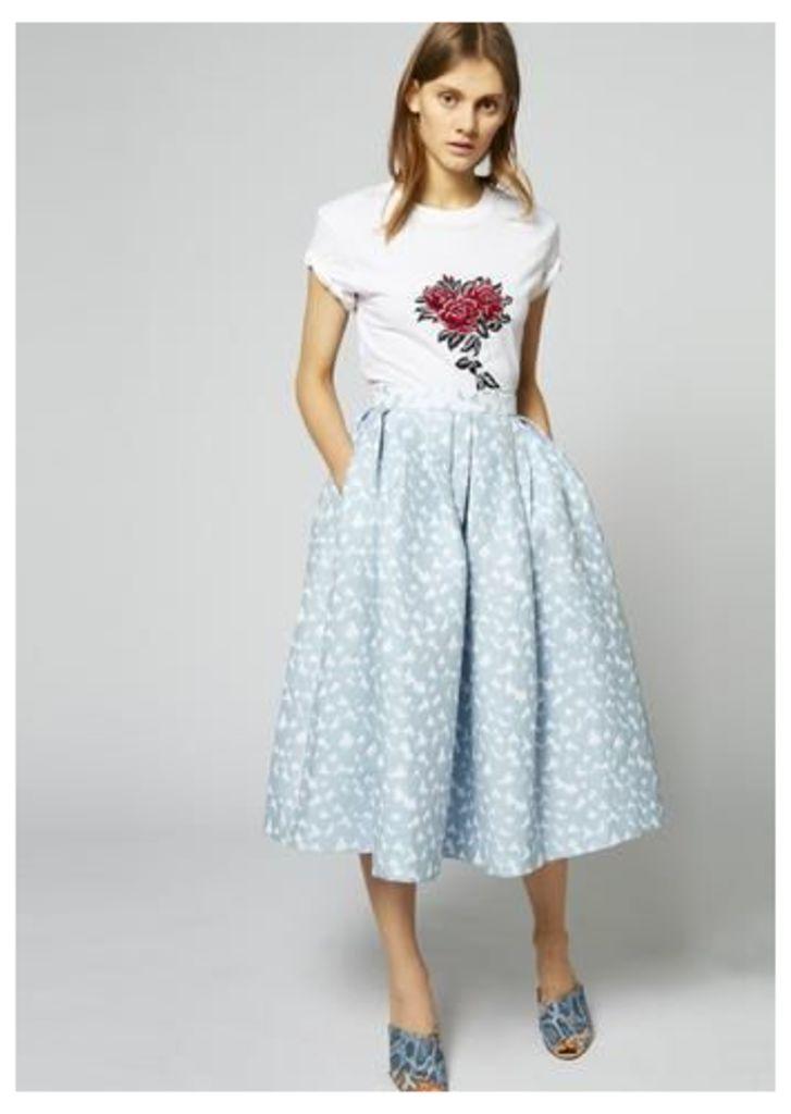 Heart Dirndl Skirt