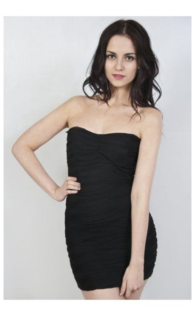 Lidia Bodycon Dress In Black
