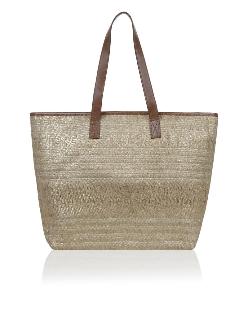 Rio Foiled Glitter Beach Tote Bag