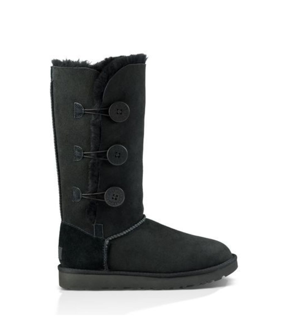 UGG Bailey Button Triplet Ii Womens Boots Black 7
