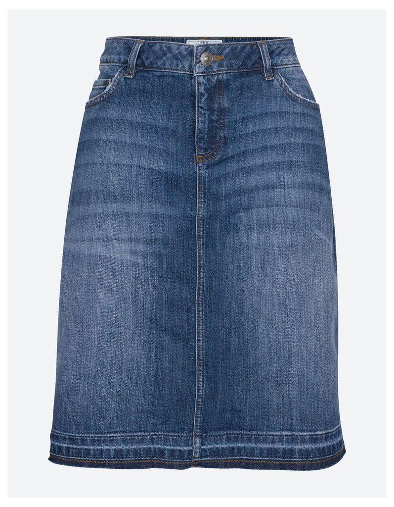 Fat Face Danni Frayed Hem Skirt