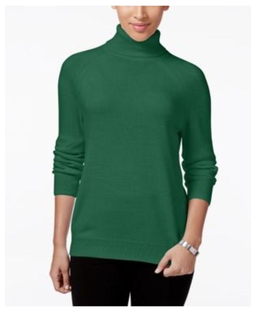 Karen Scott Luxsoft Turtleneck Sweater, Only at Macy's