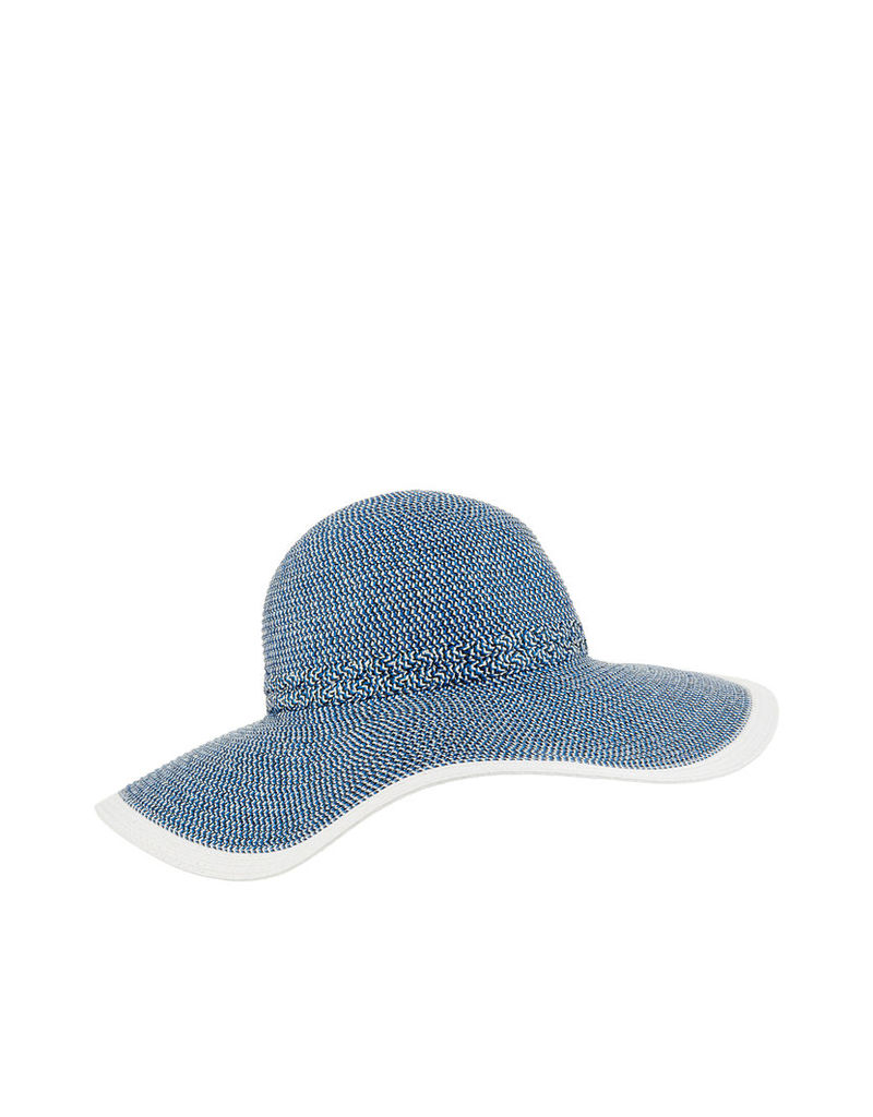 Frosted Braid Floppy Hat