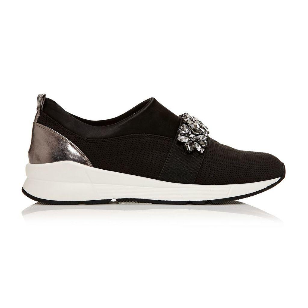 Moda in Pelle Adras Black Low Leisure Shoes