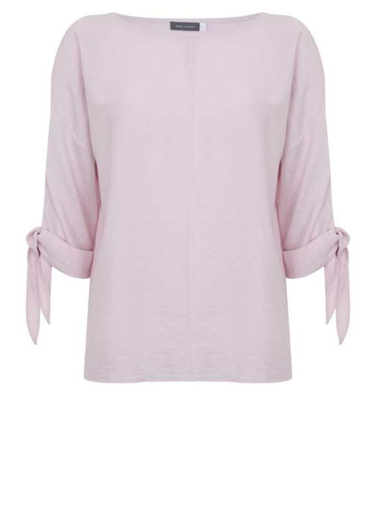 Candy Floss Tie Cuff Cocoon Top