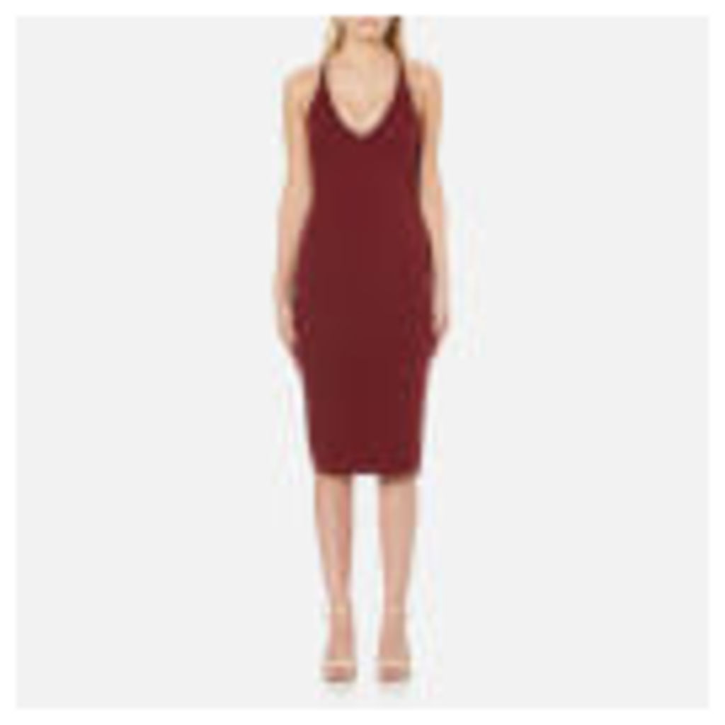 MINKPINK Women's Magma Dress - Wine