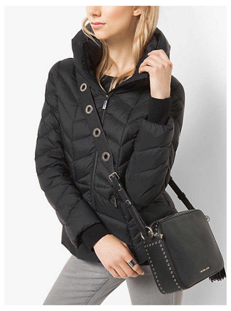 Packable Quilted-Nylon Jacket