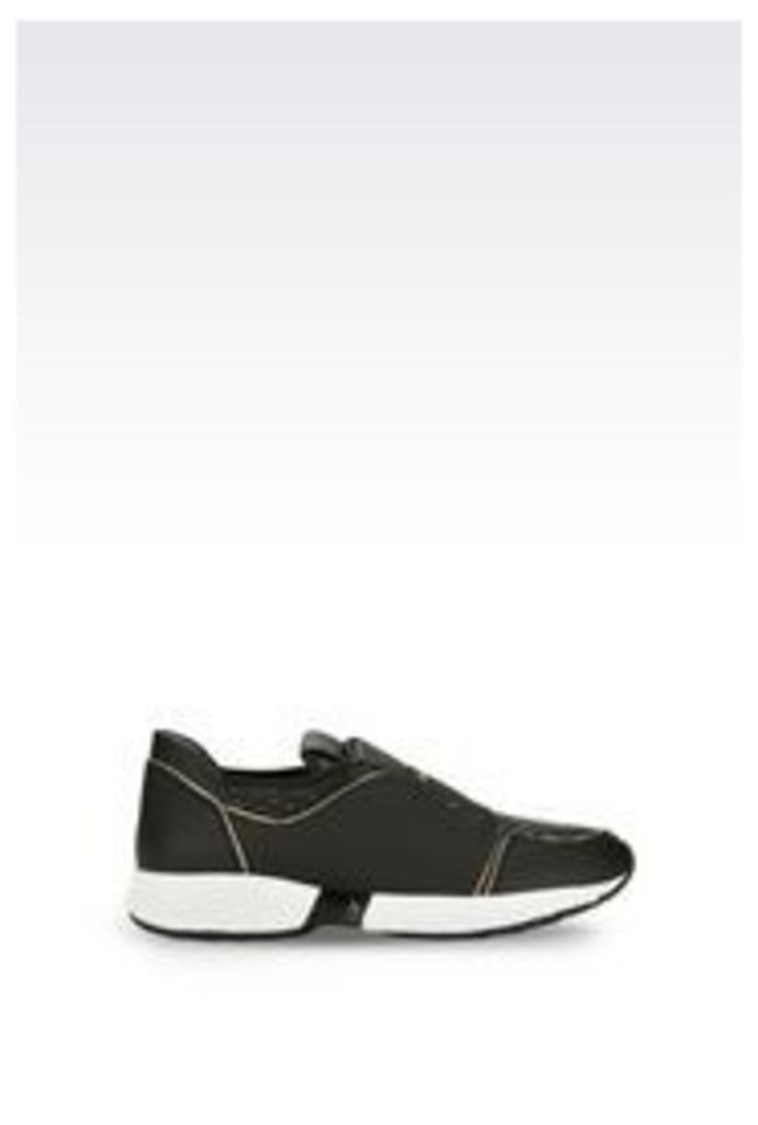OFFICIAL STORE ARMANI JEANS RUNNING SHOE WITH LOGO
