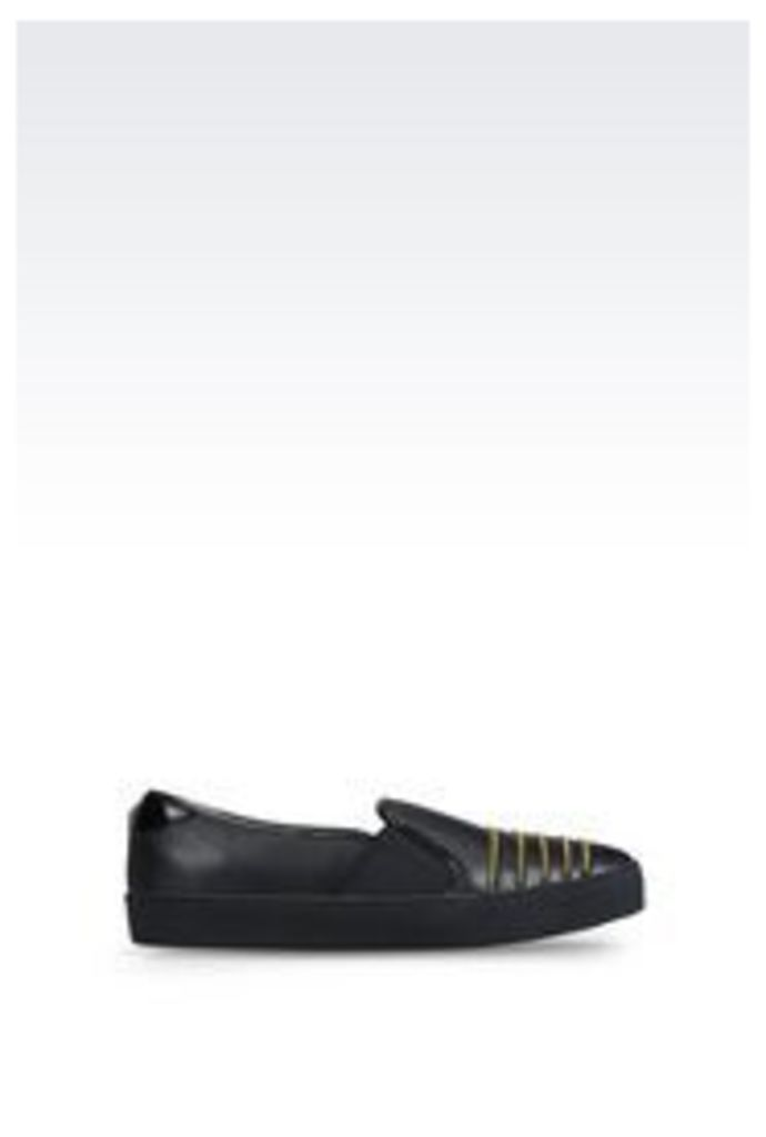 OFFICIAL STORE ARMANI JEANS SLIP-ON WITH ZIP