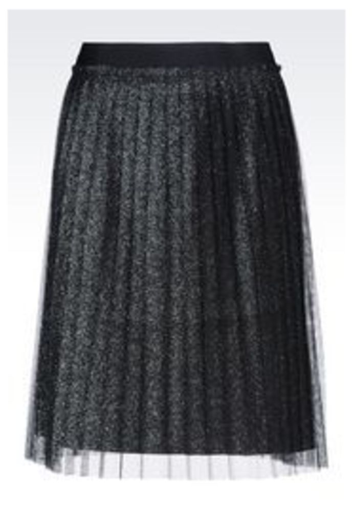 OFFICIAL STORE EMPORIO ARMANI SKIRT IN TULLE