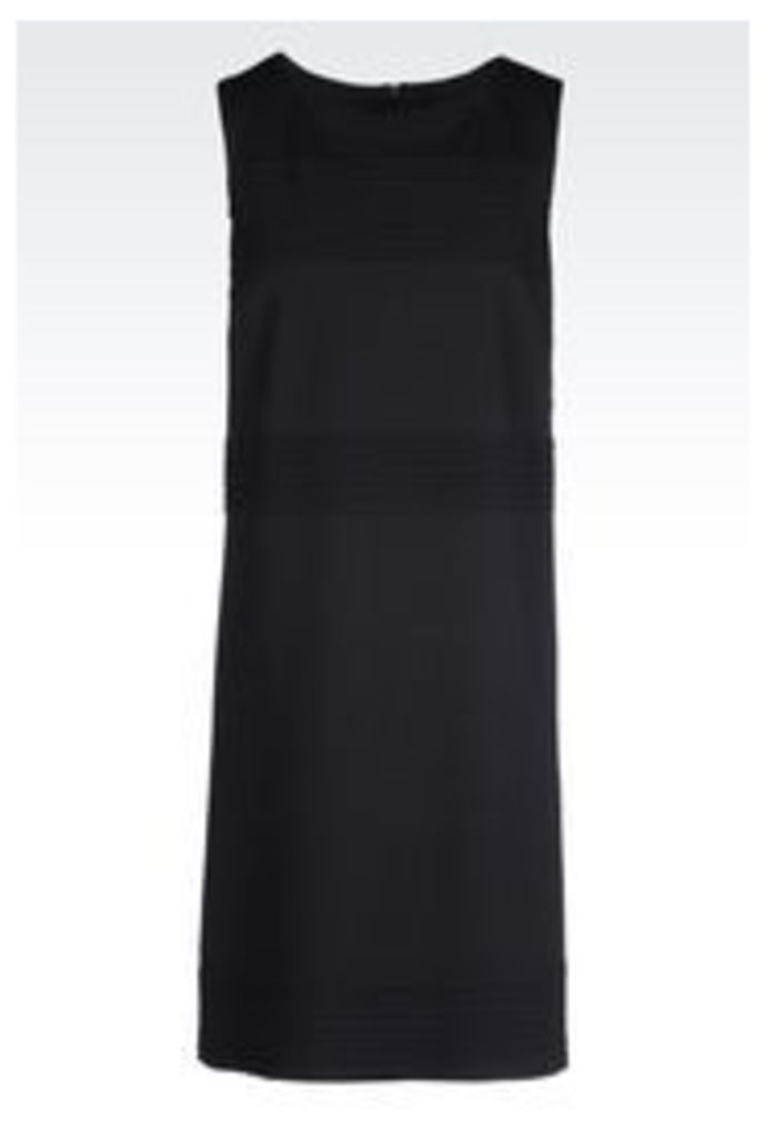 OFFICIAL STORE ARMANI JEANS DRESS IN INTERLOCK