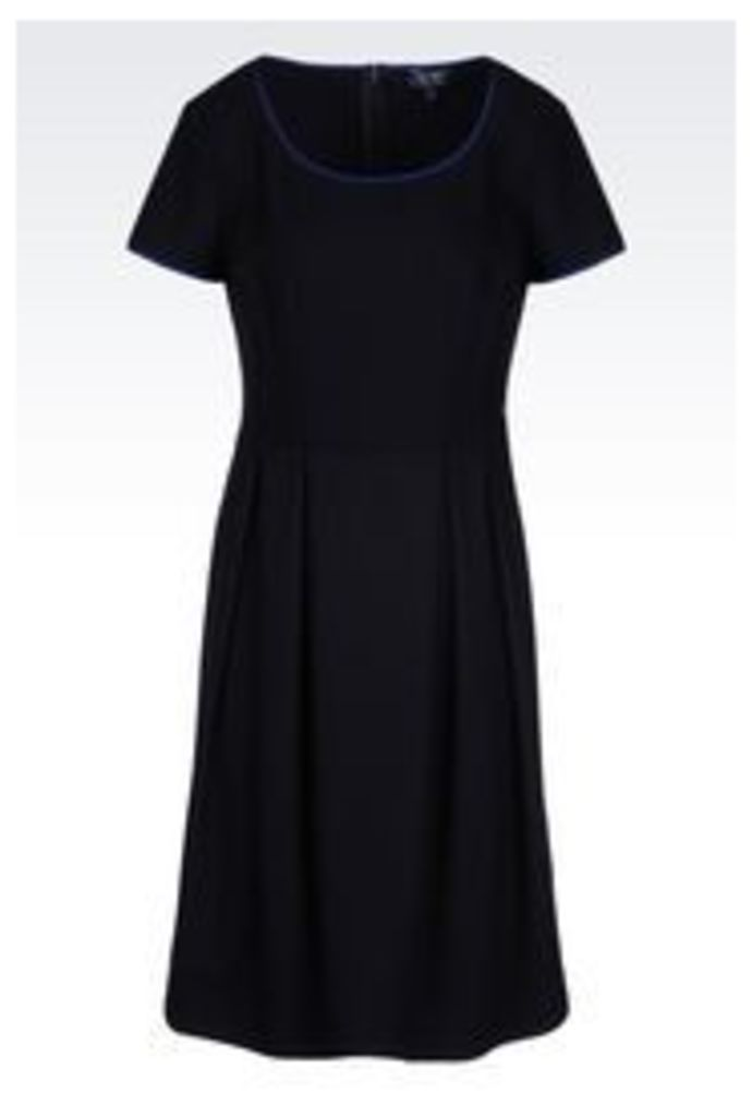 OFFICIAL STORE ARMANI JEANS DRESS IN VISCOSE BLEND