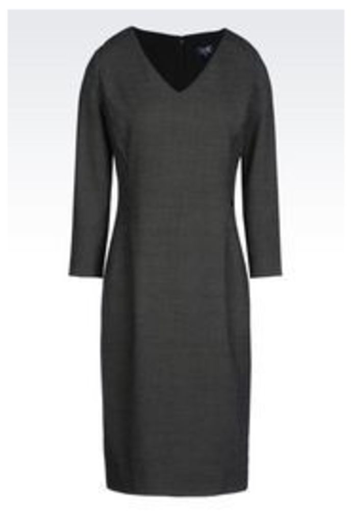 OFFICIAL STORE ARMANI JEANS SHEATH IN VISCOSE BLEND