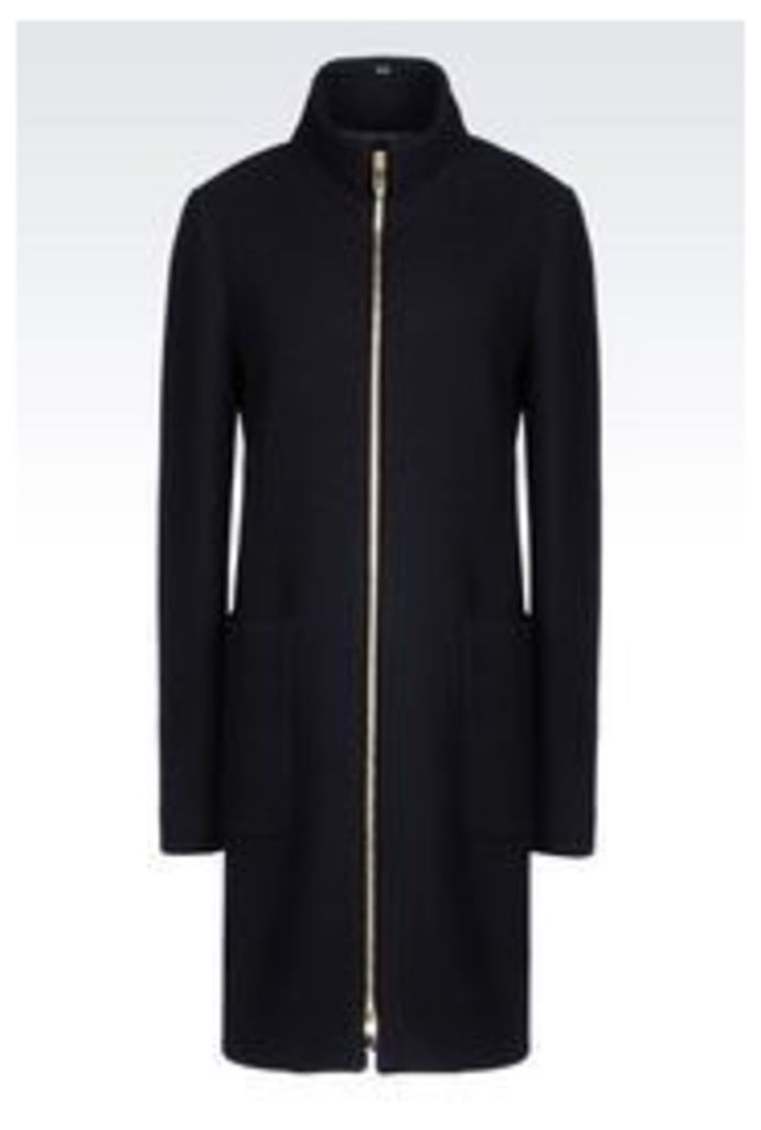 OFFICIAL STORE ARMANI JEANS BROADCLOTH COAT