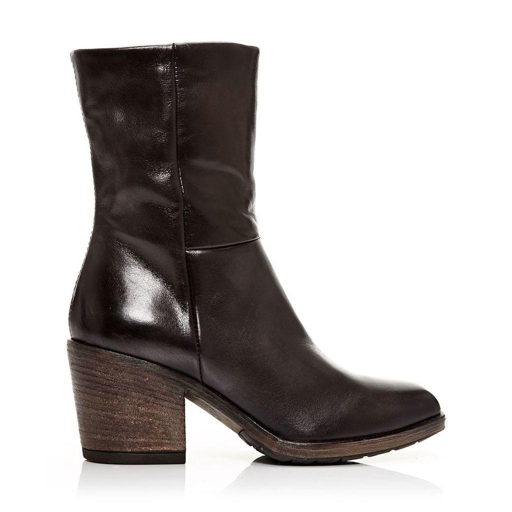 Moda in Pelle Deliah Dark Brown Medium Casual Short Boots