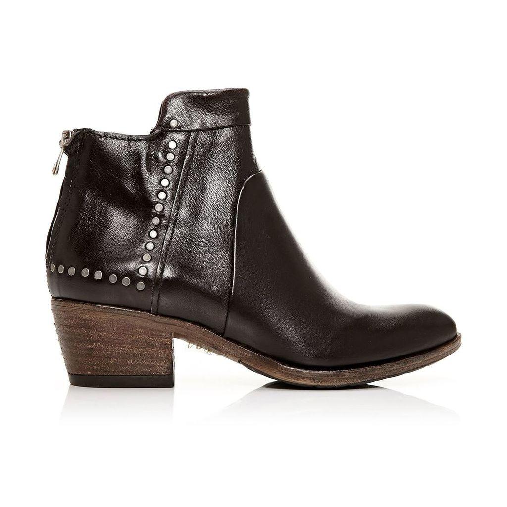 Moda in Pelle Bellah Black Low Casual Short Boots