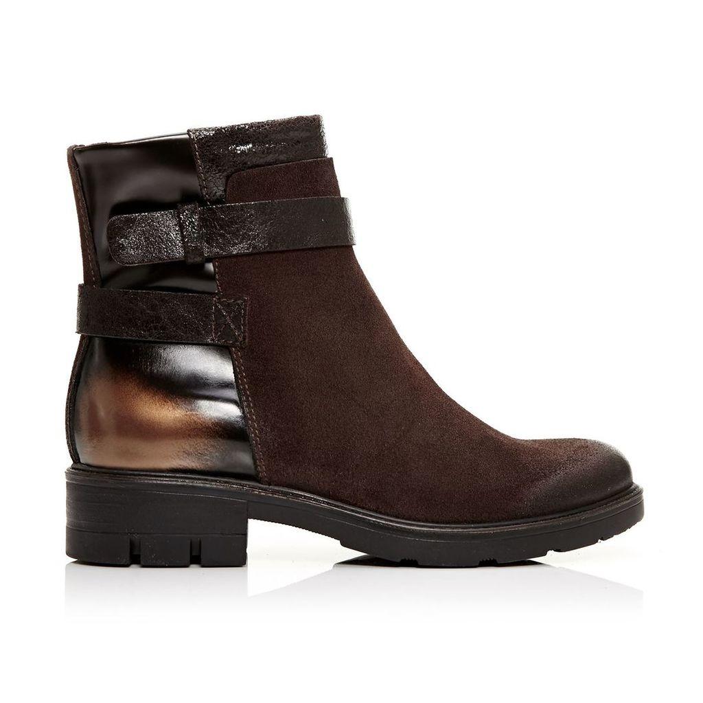 Moda in Pelle Amella Tan Low Casual Short Boots