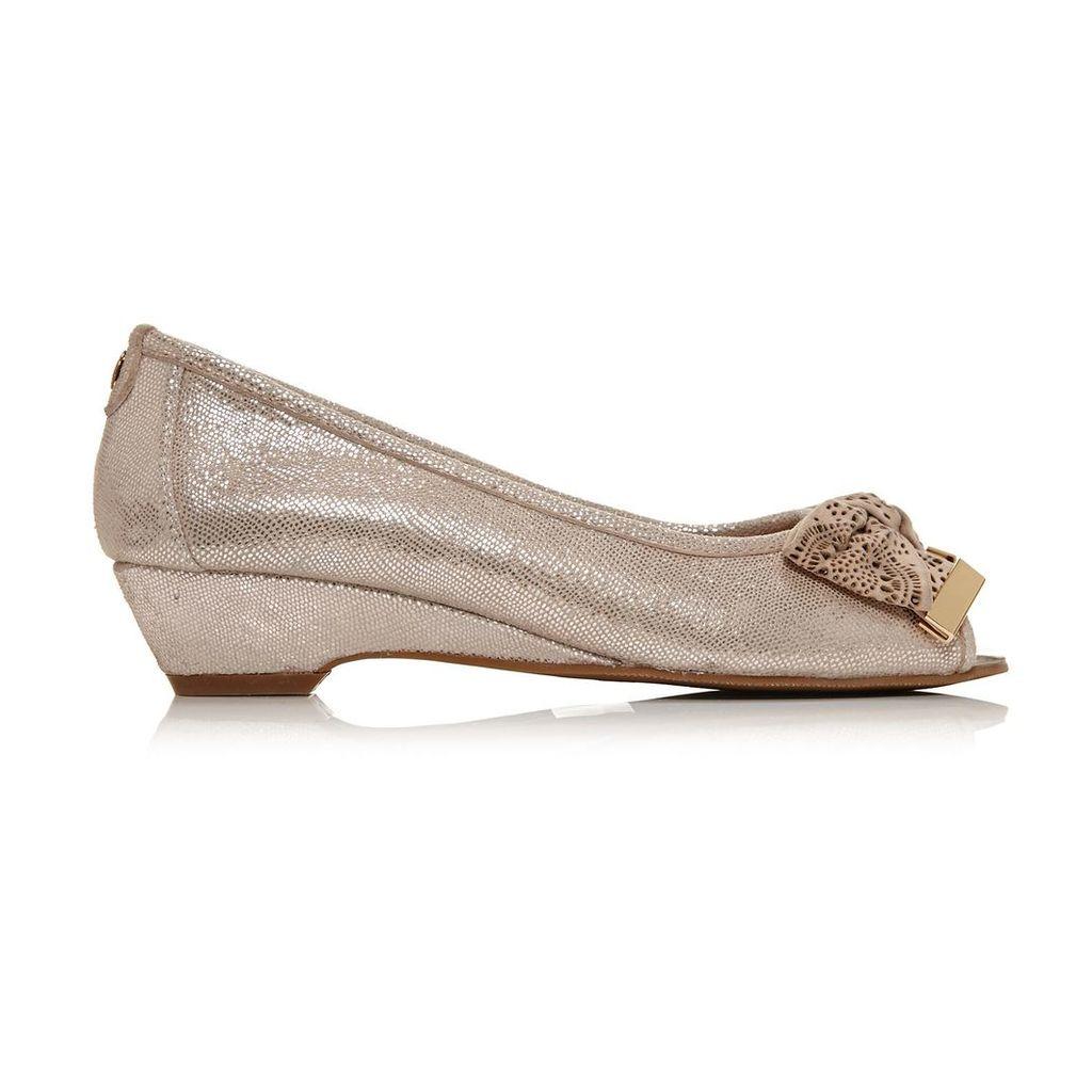 Moda in Pelle Gabrio Rose Gold Low Smart Shoes