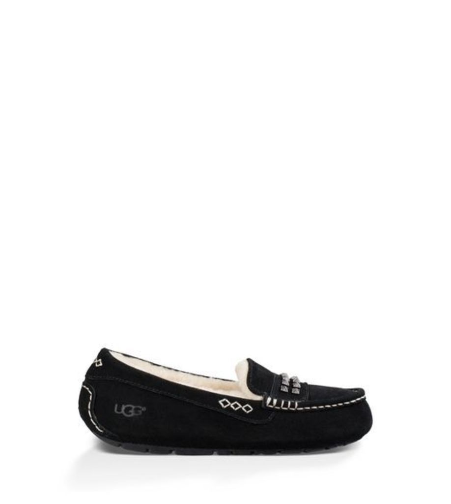 UGG Ansley Deco Studs  Slippers Black 3