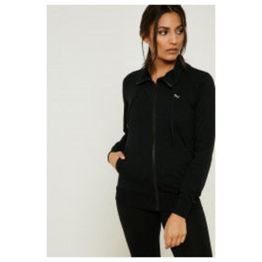 Only Play Lina High Neck Sweat Top - Black